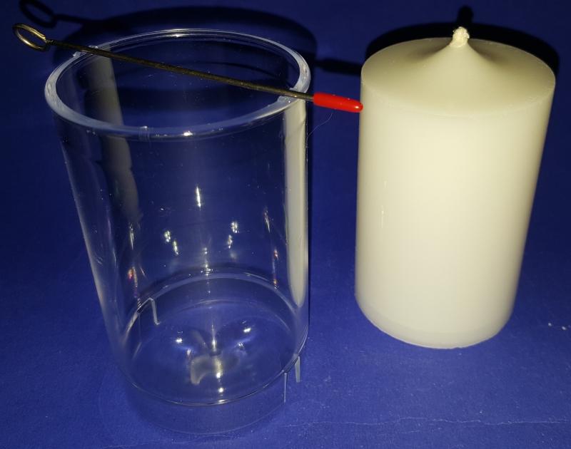 Kerzengiessform - ZYLINDER - klein